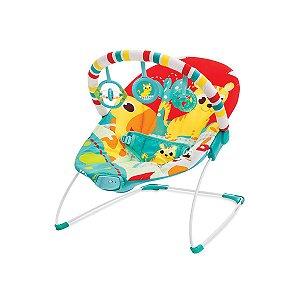 Cadeira de Descanso Infantil Vibratória Vermelho Leão - Mastela