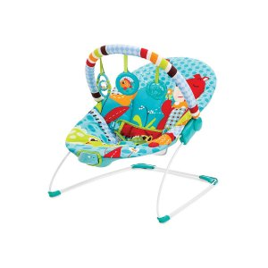 Cadeira de Descanso Infantil Vibratória Azul Urso - Mastela