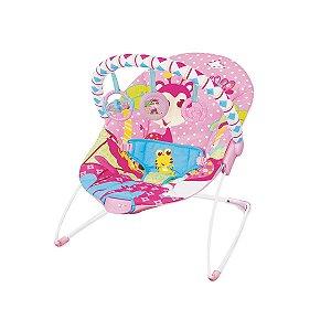 Cadeira de Descanso Infantil Vibratória Rosa Girafa - Mastela