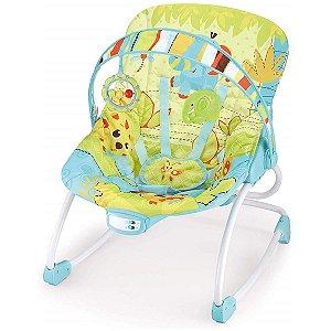 Cadeira de Descanso Infantil Musical e Vibratória Rocker Verde - Mastela