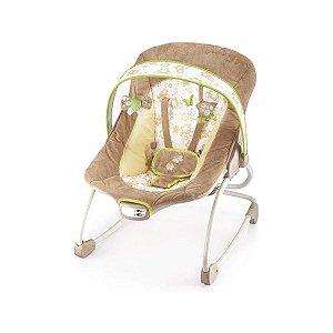 Cadeira de Descanso Infantil Musical e Vibratória Rocker Bege - Mastela