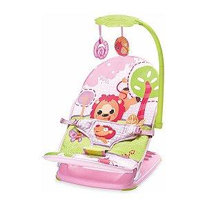Cadeira de Descanso Infantil Para Viagem Rosa Leão - Mastela