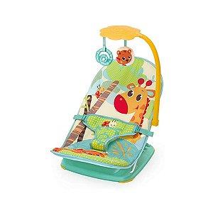 Cadeira de Descanso Infantil Para Viagem Verde Girafa - Mastela