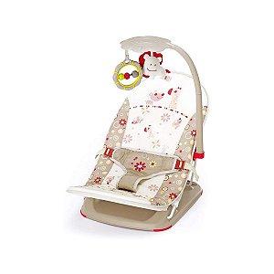 Cadeira de Descanso Infantil Para Viagem Bege Girafa - Mastela