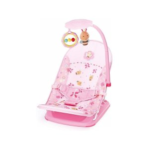 Cadeira de Descanso Infantil Para Viagem Rosa Abelha - Mastela