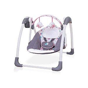 Cadeira de Balanço Automática Premium Rosa - Mastela