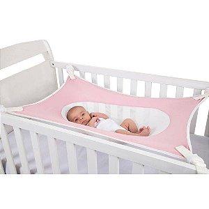 Cama Segura Para Bebê Recém-nascido Primeiro Sono Rosa - Baby Pil