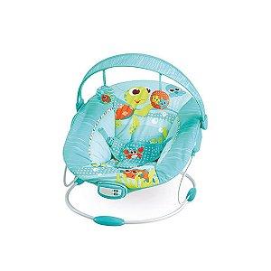 Cadeira de Descanso Infantil Musical e Vibratória Fundo do Mar Verde - Mastela