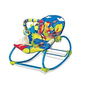 Cadeira de Descanso Infantil Rocker Selva Azul - Mastela