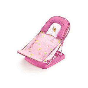 Cadeirinha de Banho Infantil Rosa Peixes  - Mastela