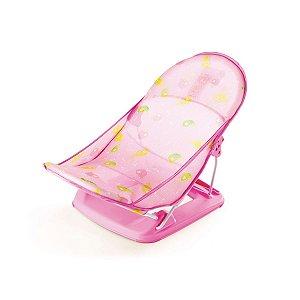 Cadeirinha de Banho Infantil Flexível Peixinhos Rosa  - Mastela