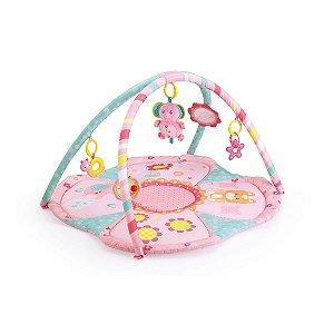 Tapete de Atividades Infantil Rosa Elefante - Mastela
