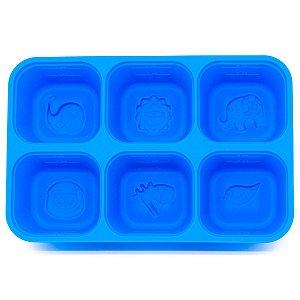 Forma Para Armazenar e Congelar Alimentos Hipopótamo Lucas - Marcus & Marcus
