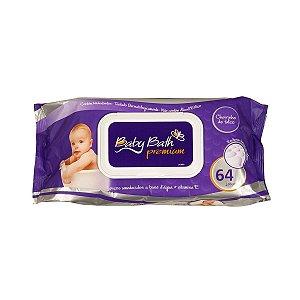 Lenços Umedecidos Premium c/64 - Baby Bath