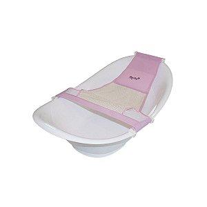 Redinha Rosa Para Banheira - Baby Bath