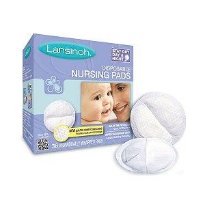Absorventes Descartáveis Para Seios Stay Dry C/ 36 unidades - Lansinoh
