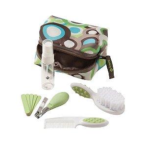 Kit Higiene e Beleza Infantil 10 Peças Verde - Safety 1st