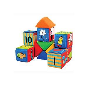Brinquedo Para Bebê Blocos de Aprendizagem - K's Kids
