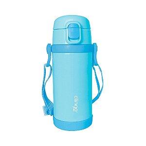 Garrafa Térmica Premium Infantil Azul 350ml - Clingo