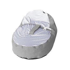 Almofada De Descanso Para Bebê Puff Ninho Estampado - Baby Pil