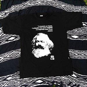 Camisa com Estampa do Marx