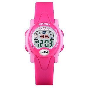 Relógio Infantil Skmei Digital 1478 Rosa