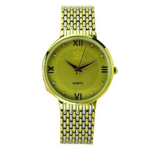 Relógio Feminino Kasi/Fmero Analógico Casual 6601 Dourado