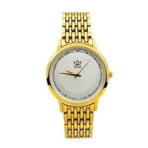 Relógio Feminino Kasi/Fmero Analógico Casual 8107 Dourado