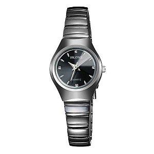 Relógio Feminino Skone Analógico 7101L Preto