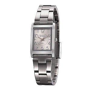 Relógio Feminino Skone Analógico 7158L Prata