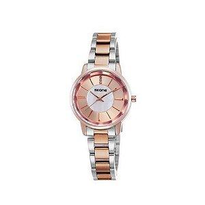Relógio Feminino Skone Analógico Casual 9153L Cobre