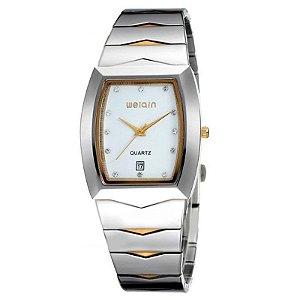 Relógio Feminino Skone Analógico Casual W0045BG Branco
