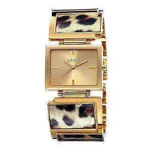 Relógio Feminino Skone Analógico Casual W4628 Dourado