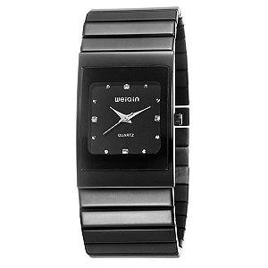 Relógio Feminino Skone Analógico Casual W0057G Preto