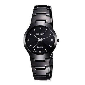 Relógio Feminino Weiqin Analógico W4164G Preto