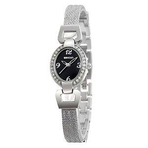 Relógio Feminino Weiqin Analógico W4592 Preto