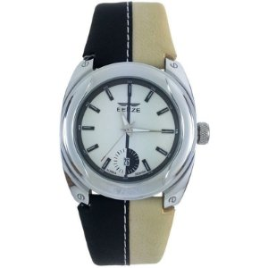 Relógio Masculino Analógico Social Berze BT169M Preto e Bege