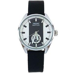 Relógio Analógico Social Berze BT170M Preto e Branco