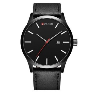 Relógio Masculino Curren Analógico 8214 Preto