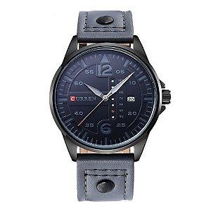 Relógio Masculino Curren Analógico 8224 Cinza