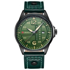 Relógio Masculino Curren Analógico 8224 Verde
