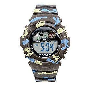 Relógio Masculino Jia Sen AnaDigi Esporte 886A Preto