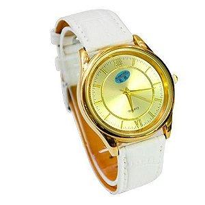 Relógio Masculino Kasi/Fmero Analógico Casual 88003G Branco