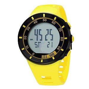 Relógio Masculino Ohsen AnaDigi Esporte 2821 Amarelo