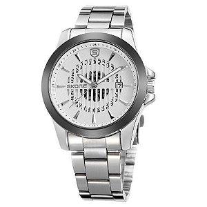 Relógio Masculino Skone Analógico 7232BG Branco