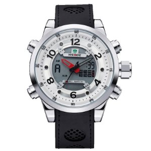 Relógio Masculino Weide AnaDigi Esporte WH-3315 - Branco
