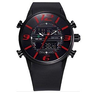 Relógio Masculino Weide AnaDigi Esporte WH-3402 Vermelho