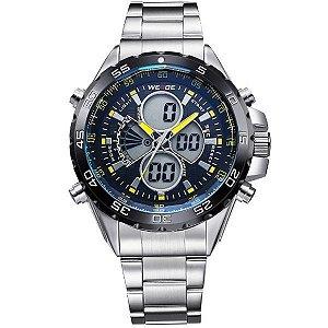 Relógio Masculino Weide Anadigi WH-1103 AM