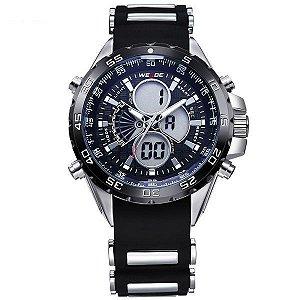 Relógio Masculino Weide Anadigi WH-1103 Preto