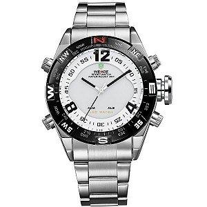 Relógio Masculino Weide Anadigi WH-2310 PR-BR